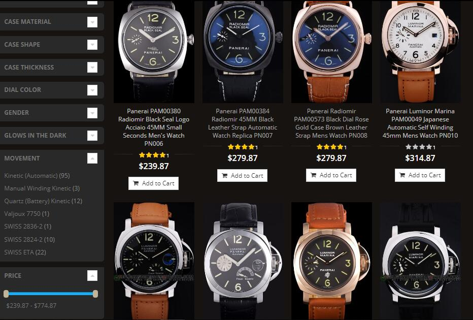 replica panerai watches usa sale