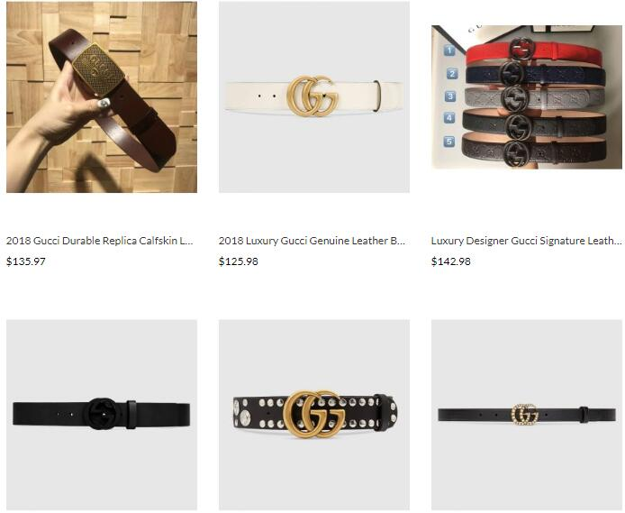wholesale cheap replica gucci belts sale