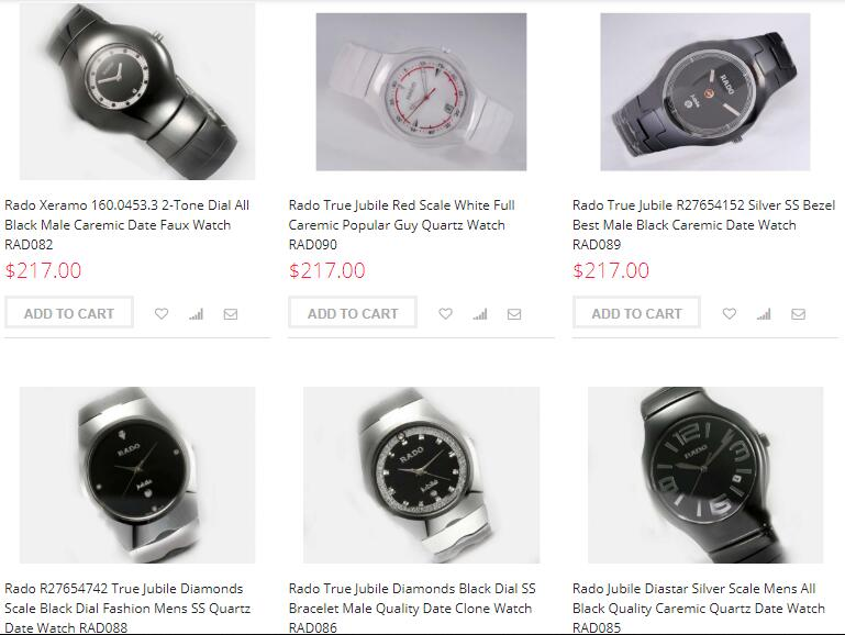 high quality rado replica watches sale